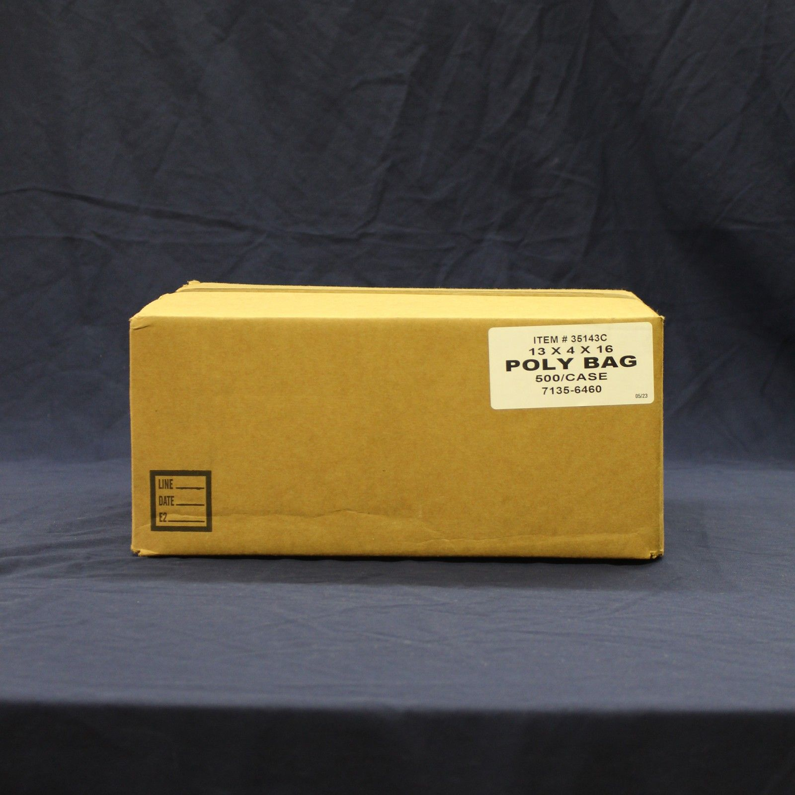 SafePro 6x3x15-Inch High Clarity Regular Poly Bags 1.1 mm 1000-Piece Case