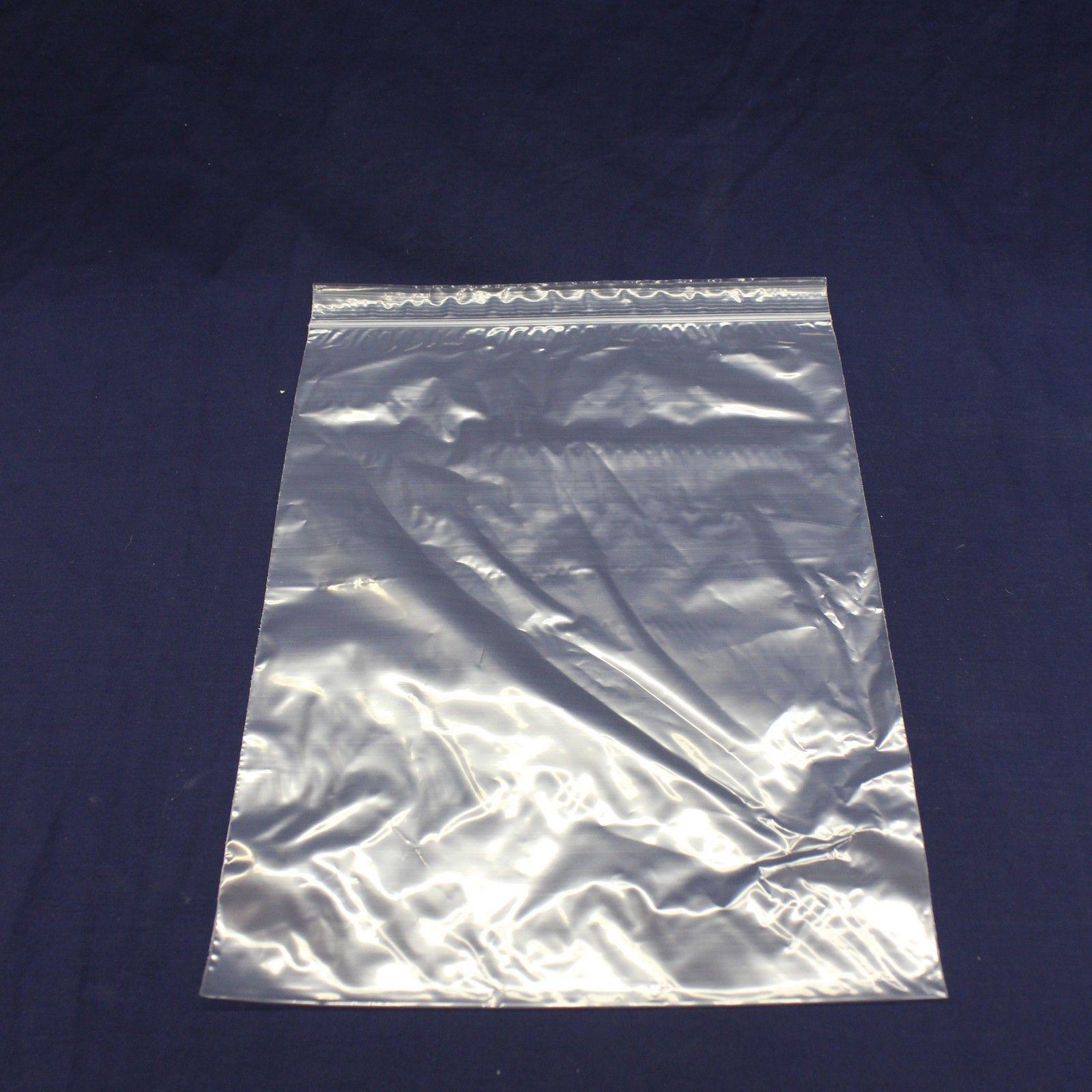 1000 pressure lock bags 16x22 cm 50µ Transparent zipbeutel #85208